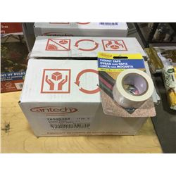 Case of 24 CantechCarpet Tape Rolls (36mm x 4m)