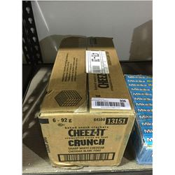 Case of Cheez-It Crackers (6 x 92g)