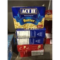 Act II and Orville Redenbacher Popcorn AssortedLot of 5