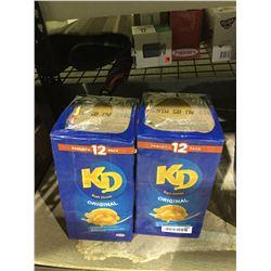 Kraft Dinner Original (12 x 225g) Lot of 2