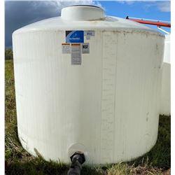 1400 GAL POLY WATER TANK