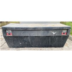 DURABLE POLY TRUCK STORAGE BOX - LOCKING