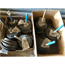 LOT OF 7 NEW BRAKE POTS AND PARTS
