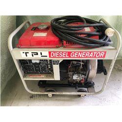 TPL DIESEL 5000 W GENERATOR W/ HD CORD