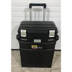STANLEY FAT MAX ROLLING TOOL BOX - EMPTY