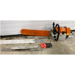 STHIL 660 MAGNIUM CHAINSAW W/  EXTRA BLADES & CHAIN