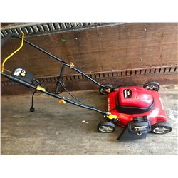 """HOMELITE 18""""  ELECTRIC MOWER - VERY GOOD CONDITION"""