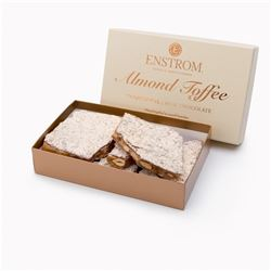 ONE ENTIRE CASE OF FAMOUS ENSTROM'S CHOCOLATE TOFFEE