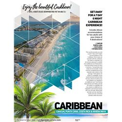 CARIBBEAN GET AWAY FOR 2 ADULTS 7 DAYS/6 NIGHTS