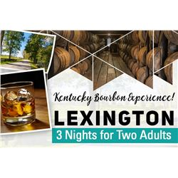 THREE NIGHT KENTUCKY BOURBON PACKAGE FOR 2