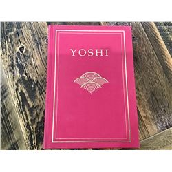 YOSHI BY WATSON T. YOSHIMOTO, SIGNED AND NUMBERED EDITION