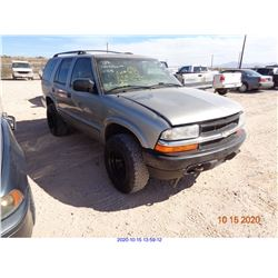2002 - CHEVROLET BLAZER/RESTORED SALVAGE