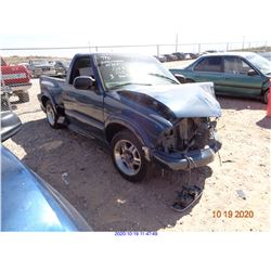 2003 - CHEVROLET S10 PICKUP