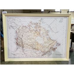 """MAP OF CANADA 46 1/2"""" X 64 1/2"""""""