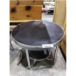 2 TIER ROUND SIDE TABLE