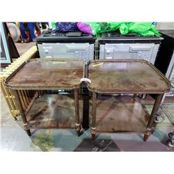 PAIR OF PARLOR TABLES