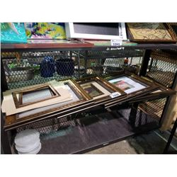 """4 NEW PICTURE FRAMES 16"""" X 20"""" AND PICTURE BORDERS"""