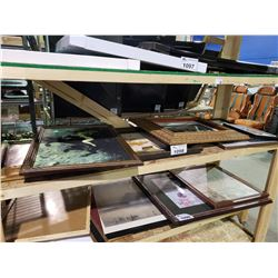 ASSORTED ART & PICTURE FRAME