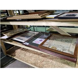 ASSORTED ART & PICTURE FRAMES