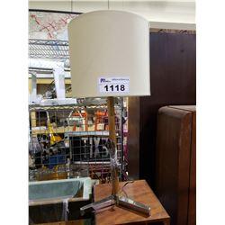TEAK TABLE LAMP