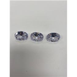 CUBIC ZIRCONIA WHITE WITH PINK HUE 163.80CTW