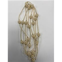 """1 - 38"""" PEARL NECKLACE"""
