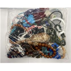 BAG OF ASSORTED JEWELRY