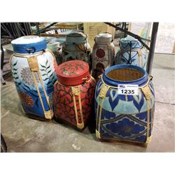 ASSORTED CHINESE CONTAINERS