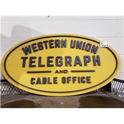 SET DEC WESTERN UNION TELEGRAPH & CABLE SIGN