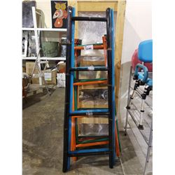 ASSORTED WALL LADDERS