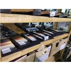 "9 NEW PICTURE FRAMES 11"" X 17"""