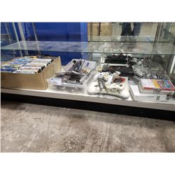ASSORTED NINTENDO PRODUCTS & DVDS