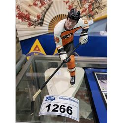 SIGNED WITH COA ERIC LINDROS PORCELAIN FIGURE #324