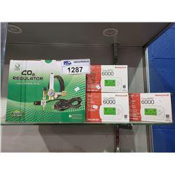3 HONEYWELL FOCUSPRO 6000 & CO2 REGULATOR
