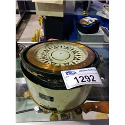 VINTAGE SAURA MAGNETIC BOAT COMPASS MODEL P-180R