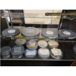 ASSORTED SET DEC MOVIE REELS & MONOSCOPE