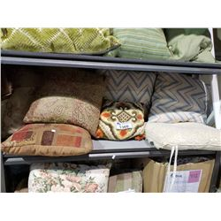 ASSORTED DECORATIVE PILLOWS