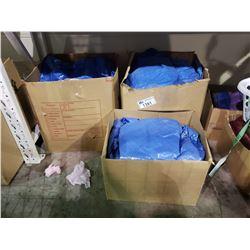 3 BOXES OF TARPS