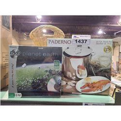 PADERNO 16 QT STOCK POT & PLANT EARTH DVD GAME