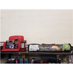 ASSORTED CAMPING RELATED PRODUCTS