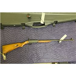 REMINGTON MODEL 24, .22LR, SEMI AUTOMATIC, SERIAL #112672, COMES WITH HARD CASE, TRIGGER LOCK WITH