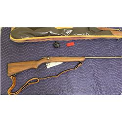 WINCHESTER 67, .22S - L - LR, BOLT ACTION SINGE SHOT, SERIAL #UNKNOWN, COMES WITH SOFT CASE AND