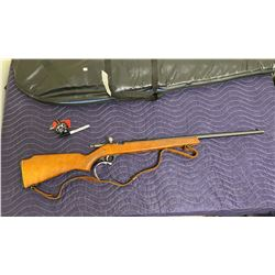 WINCHESTER COOEY MODEL 750, .22S -L -LR, BOLT ACTION SINGLE SHOT, SERIAL #5915768, COMES WITH SOFT