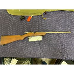 COOEY ACE 1, .22LR, SINGLE SHOT BOLT ACTION, SERIAL # UNKNOWN, COMES WITH SOFT CASE AND TRIGGER