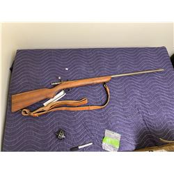 REMINGTON MODEL 41 TARGETMASTER, .22SL - LR, SINGLE SHOT BOLT ACTION, COMES WITH SOFT CASE, AND