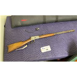 WINCHESTER MODEL 92, .25-20 WCF, LEVER ACTION, SERIAL #942124, CONES WITH LOCK WITH KEY AND SOFT