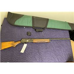 "BELGIAN BROWING LIGHT 12, 12 GAUGE 2 3/4"" SEMI AUTOMATIC SHOTGUN, SERIAL #60067, COMES WITH SOFT"