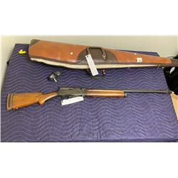 "BELGIAN BROWING, 12 GAUGE 2 3/4"" SEMI AUTOMATIC SHOTGUN, SERIAL #26954, COMES WITH SOFT"