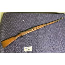 BOLT ACTION ANTIQUE RIFLE, COMES WITH TRIGGER LOCK WITH CODE