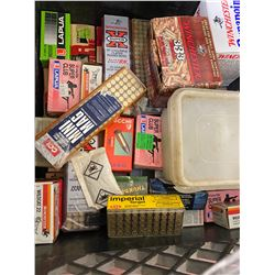 CRATE OF .22 AMMO, SR AND LR VARIOUS BRANDS